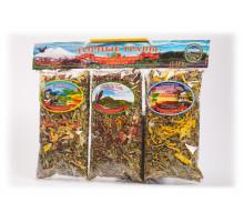 Подарочный набор из 3-х травяных напитков по 50 гр. Вариант №1
