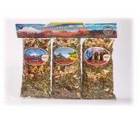 Подарочный набор из 3-х травяных напитков по 50 гр. Вариант №2